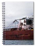 Presque Isle Freighter Spiral Notebook