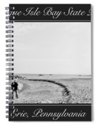 Presque Isle State Park Erie Pennsylvania Spiral Notebook