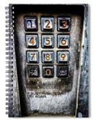 Press Three And Try Again Spiral Notebook