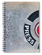Press To Order Spiral Notebook