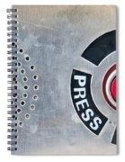 Press To Order Spiral Notebook