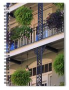 Pretty Balcony Spiral Notebook