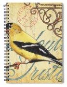Pretty Bird 3 Spiral Notebook