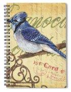 Pretty Bird 4 Spiral Notebook