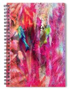 Pretty Bird Spiral Notebook