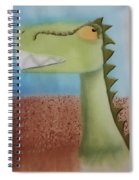 Dinoart Raptor Spiral Notebook