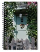 Pretty Door In Nether Wallop Spiral Notebook