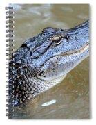 Pretty Gator Spiral Notebook