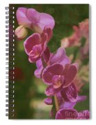 Pretty In Pink Water Color Effect Spiral Notebook