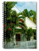 Pretty Key West Florida Spiral Notebook