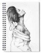 Pretty Lady Spiral Notebook