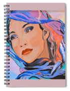 Pretty Lady Spiral Notebook