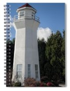 Pretty Lighthouse In Decatur Alabama  Spiral Notebook