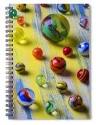 Pretty Marbles Spiral Notebook
