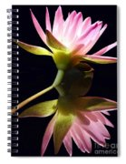 Pretty Pink Reflections Spiral Notebook