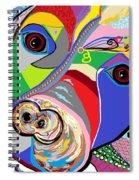 Pretty Pitty Spiral Notebook