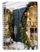 Pretty Store Windows Spiral Notebook