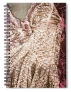 Pretty Things 2 - Lingerie Art By Sharon Cummings Spiral Notebook