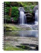 Pretty Waterfalls In Rainforest Spiral Notebook