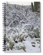 Prickly Pear And Saguaro Cacti Spiral Notebook