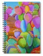 Prickly Pear Cactus-eye Candy Spiral Notebook