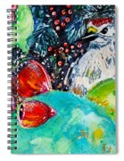 Prickly Pear Cactus Study II Spiral Notebook