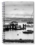 Priddy's Hard Boats Spiral Notebook