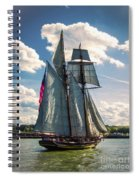 Pride Of  Baltimore 1 Spiral Notebook
