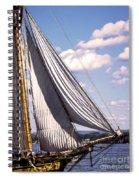 Pride Of Baltimore 2 Spiral Notebook