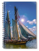 Pride Of Baltimore 3 Spiral Notebook