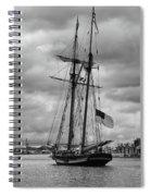 Pride Of Baltimore Spiral Notebook