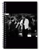 Priest Camaraderie Spiral Notebook