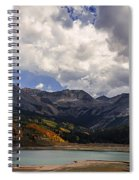 Priest Lake Colorado Spiral Notebook