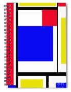 Primary Abstract Motivational Spiral Notebook