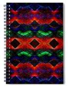 Primitive Textured Shapes Spiral Notebook
