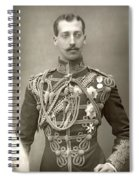 Prince Albert Victor Spiral Notebook