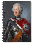 Prince Augustus William Oil On Canvas Spiral Notebook