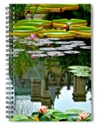 Prince Charmings Lily Pond Spiral Notebook