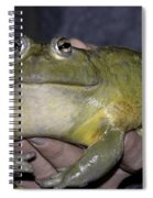 Prince Frog Hands Spiral Notebook