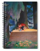 Prince Kisses Snow White Spiral Notebook