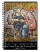 Prince Of Peace Spiral Notebook