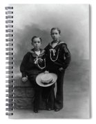 Princes Amedeo And Aimone Spiral Notebook