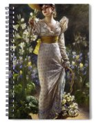 Princess Elvina Of Bavaria Spiral Notebook