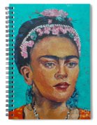 Princess Frida Spiral Notebook