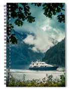 Princess Louisa Inlet Spiral Notebook