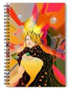 Princess Of Lightbeams Spiral Notebook