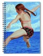 Princess Of The Ocean - Princesa Del Oceano Spiral Notebook