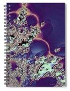 Princess Tiara Fractal Spiral Notebook