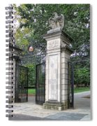 Princeton University Main Gate Spiral Notebook