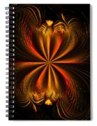 Printemps Papillon - Abstract Expressionism Spiral Notebook